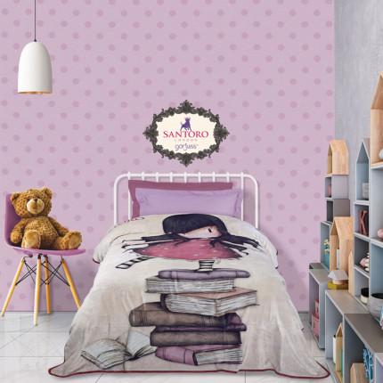 Κουβέρτα Fleece Μονή 160X220 Das Home Santoro Cartoon 5031