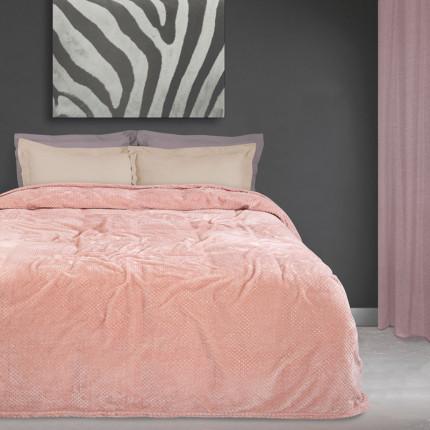 Κουβέρτα Fleece Μονή 160X220 Das Home Blankets Winter 0442
