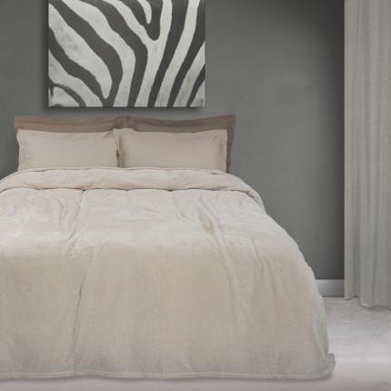 Κουβέρτα Fleece Μονή 160X220 Das Home Blankets Winter 0444