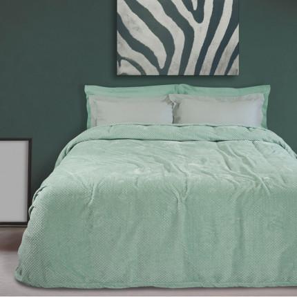Κουβέρτα Fleece Υπέρδιπλη 220X240 Das Home Blankets Winter 0440