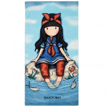 Παιδική Πετσέτα Θαλάσσης 75x150 Das Home Beach Towel Cartoon 5807 Μπλε