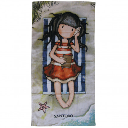 Παιδική Πετσέτα Θαλάσσης 75x150 Das Home Beach Towel Cartoon 5809 Σιελ
