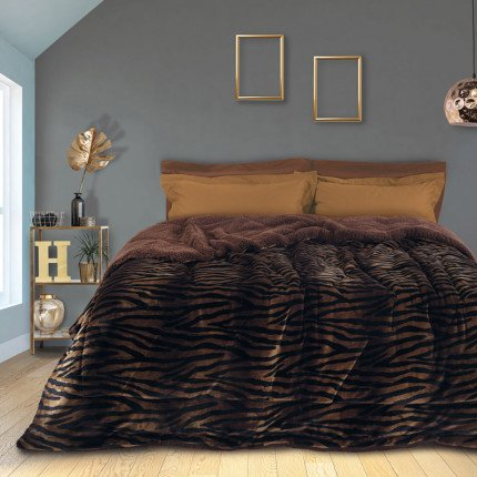 Κουβερτοπάπλωμα Μονό 160X220 Das Home Blankets Winter 1146