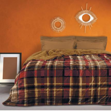 Κουβερτοπάπλωμα Υπέρδιπλο 220X240 Das Home Blankets Winter 1145