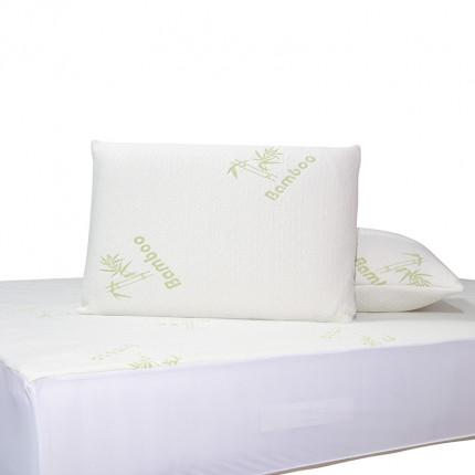 Επίστρωμα Καπιτονέ Ημίδιπλο 120x200+25 Das Home Comfort Mattress Protectors 1097 Λευκο-Πρασινο