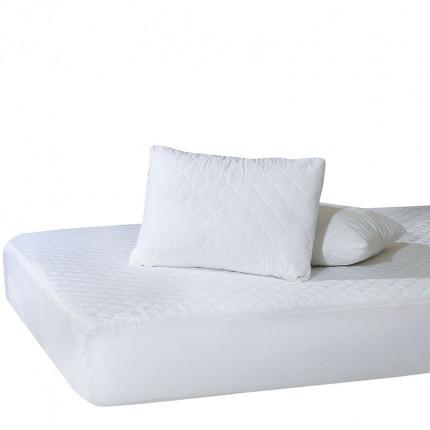 Επίστρωμα Καπιτονέ Ημίδιπλο 120x200+25 Das Home Comfort Mattress Protectors 1100 Λευκο
