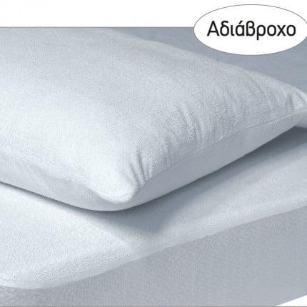 Αδιάβροχο Επίστρωμα Διπλό 160x200+35 Das Home Comfort Mattress Protectors 1089 Λευκο