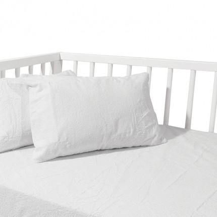 Αδιάβροχο Κάλυμμα Μαξιλαριών 30x40 Das Home Relax 1061 Λευκο