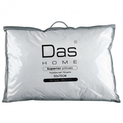 Μαξιλάρι Ύπνου 50x70 Das Home Comfort Pillows 1023 Λευκο