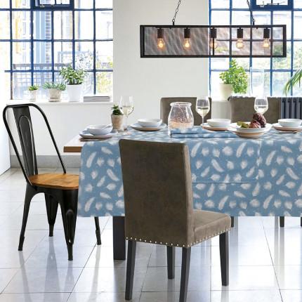 Τραπεζομάντηλο 140x140 Das Home Table 0554 Σιελ