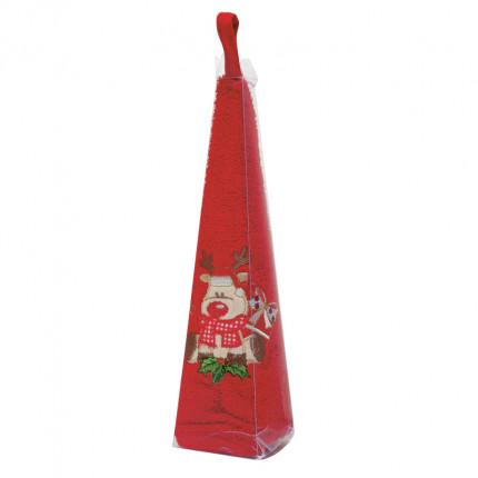 Χριστουγεννιάτικη Πετσέτα Φαγητού Φ.50 Das Home Christmas 0588 Κοκκινο