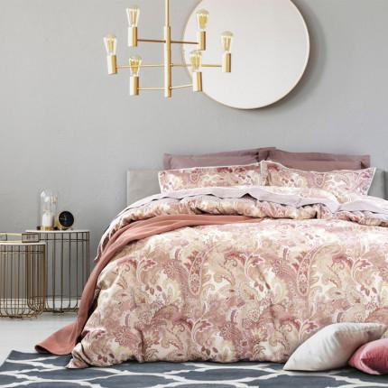 Σεντόνια Υπέρδιπλα (Σετ) 230X260 Das Home Prestige 1620 Ροζ Χωρίς Λάστιχο