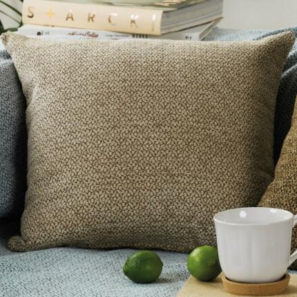 Διακοσμητική Μαξιλαροθήκη 50X50 Kentia Stylish Best 15 Καφέ
