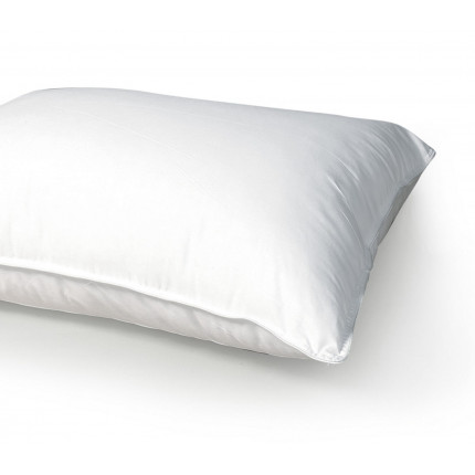 Μαξιλάρι Ύπνου 50x70 Nef Nef White Linen Microfiber 1000γρ Μαλακό