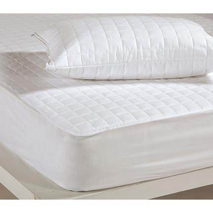 Καπιτονέ Καλύμματα Μαξιλαριών (Ζεύγος ) 50x70 Nef Nef White Linen