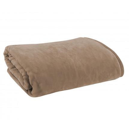 Κουβέρτα Υπέρδιπλη 220x240 Nef Nef Βελουτέ Loft 1107-Linen