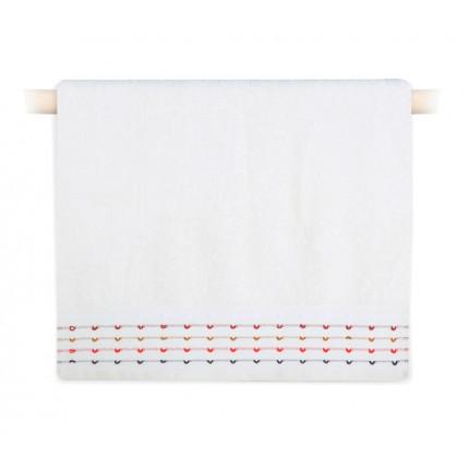 Πετσέτα Προσώπου 50x90 Nef Nef Spot Ecru