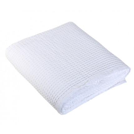Κουβέρτα Πικέ Μονή 160x240 Nef Nef New Golf 200-White