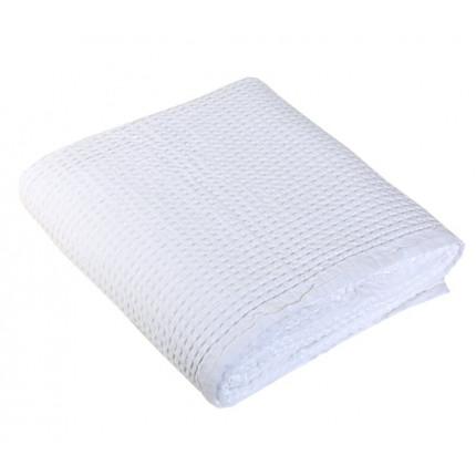 Κουβέρτα Πικέ Υπέρδιπλη 220x240 Nef Nef New Golf 200-White