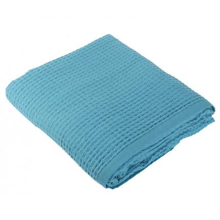 Κουβέρτα Πικέ Μονή 160x240 Nef Nef New Golf 1027-Dusty Aqua