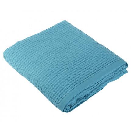 Κουβέρτα Πικέ Υπέρδιπλη 220x240 Nef Nef New Golf 1027-Dusty Aqua
