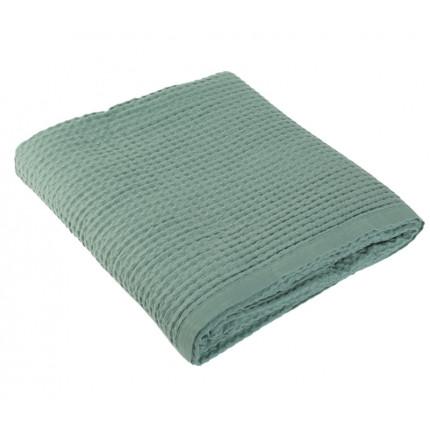 Κουβέρτα Πικέ Μονή 160x240 Nef Nef New Golf 1066-Dark Mint