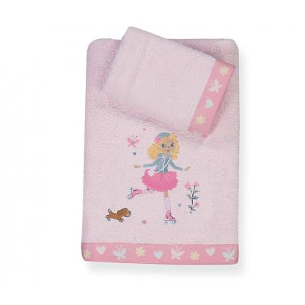 Πετσέτες Παιδικές (Σετ 2 Τμχ) Roller Girl