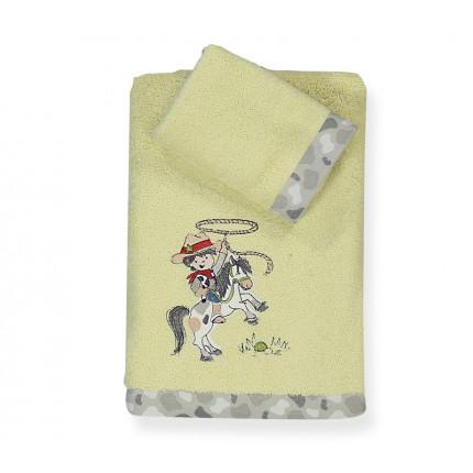 Πετσέτες Παιδικές (Σετ 2 Τμχ) Western