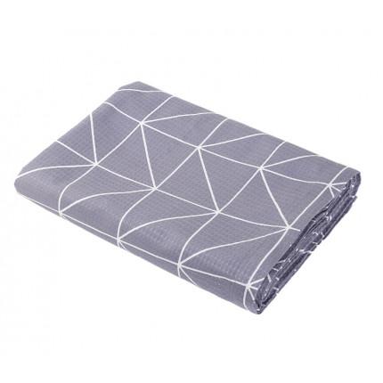 Κουβέρτα Πικέ Υπέρδιπλη 230x240 Nef Nef Marsal Grey