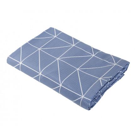 Κουβέρτα Πικέ Υπέρδιπλη 230x240 Nef Nef Marsal Denim
