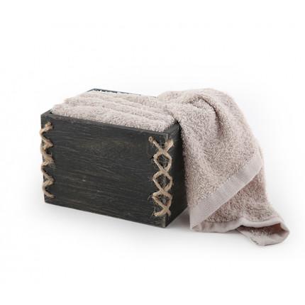 Καλαθάκι Με Λαβέτες (Σετ) 30x30 Nef Nef Casa 933-Mocca