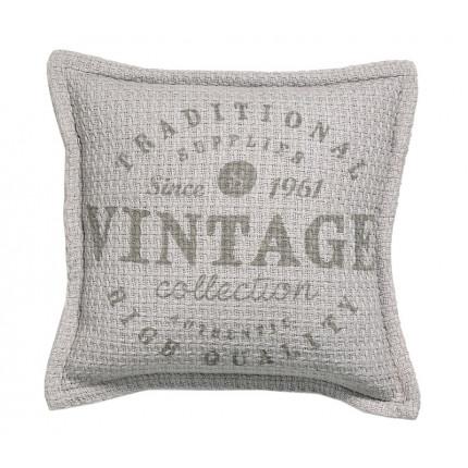 Μαξιλάρι Καρέκλας 40x40 Nef Nef Vintage Vintage Grey