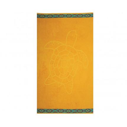 Πετσέτα Θαλάσσης 70x120 Nef Nef Ζακαρ Εμπριμε Turtle Yellow