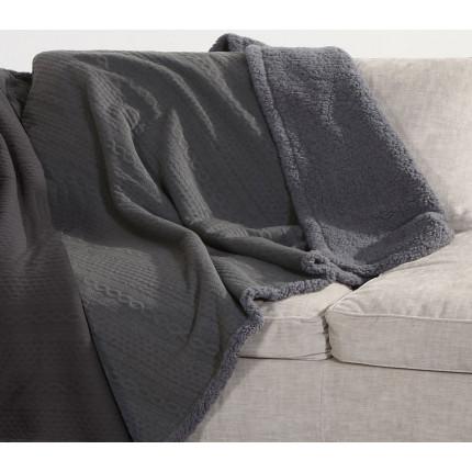 Ριχτάρι Πολυθρόνας 130x170 Nef Nef Tress Grey
