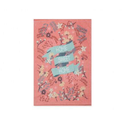 Ποτηρόπανο Βελουτε 40x60 Nef Nef Home Sweet Home Pink