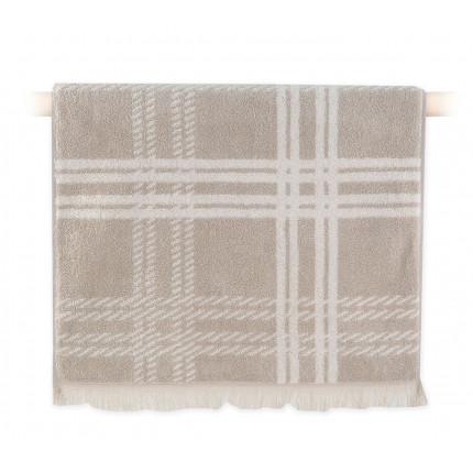 Πετσέτα Προσώπου 50x90 Nef Nef William Beige