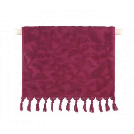 Πετσέτα Προσώπου 50x90 Nef Nef Kynthia 1127-Bordo