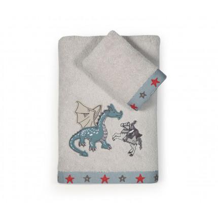 Παιδικές Πετσέτες (Σετ 2 Τμχ) Nef Nef Dragon Battle