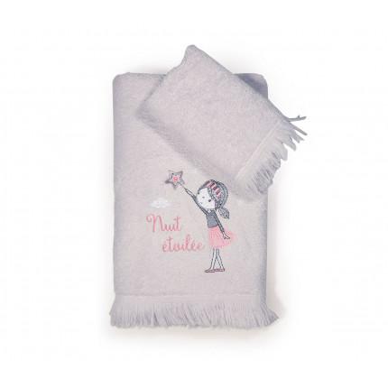 Παιδικές Πετσέτες (Σετ 2 Τμχ) Nef Nef Nuit