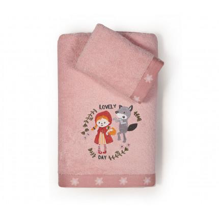 Παιδικές Πετσέτες (Σετ 2 Τμχ) Nef Nef Red Riding Hood