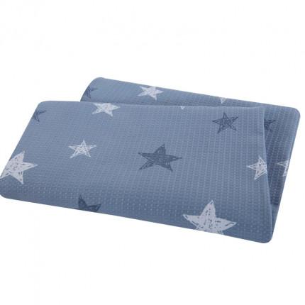 Κουβέρτα Πικέ Μονή 160x240 Nef Nef Fantasy Blue