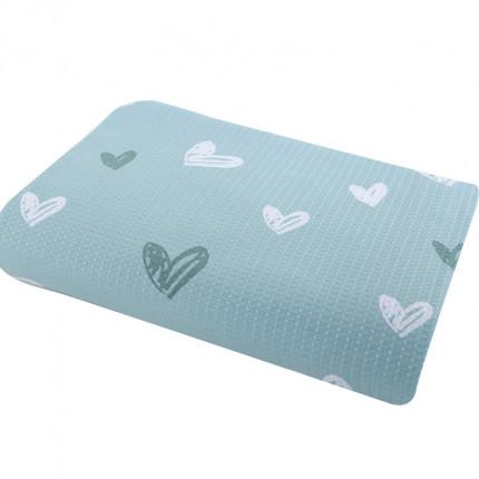 Κουβέρτα Πικέ Μονή 160x240 Nef Nef L'Amour Aqua