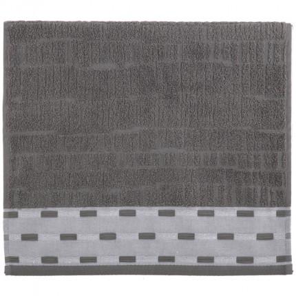 Πετσέτα Χεριών 30x50 Nef Nef Gordon 902-Anthracite