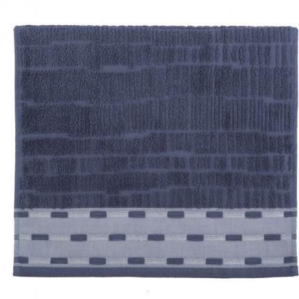 Πετσέτα Προσώπου 50x90 Nef Nef Gordon Blue
