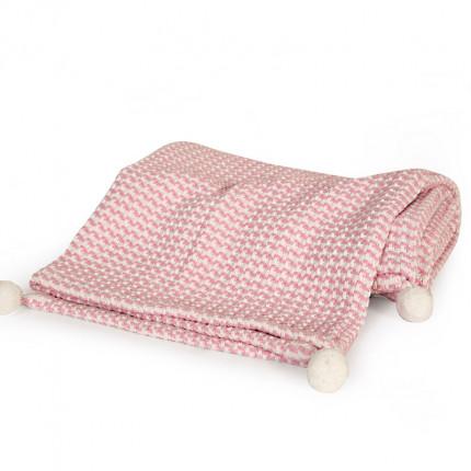 Κουβέρτα Πλεκτή Κούνιας 110x150 Nef Nef Cat