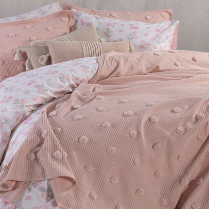 Κουβέρτα Πικέ Υπέρδιπλη 230x240 Nef Nef Tufted Indila Eng.Rose