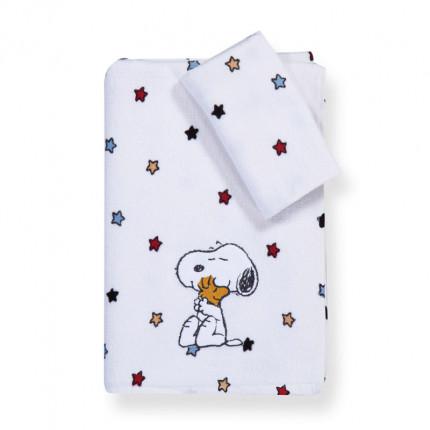 Παιδικές Πετσέτες (Σετ 2 Τμχ) Nef Nef Snoopy Rainbow