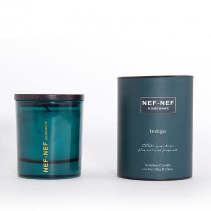 Αρωματικο Κερι Indigo 200Gr Nef Nef Indigo