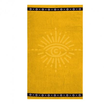 Πετσέτα Θαλάσσης 80x160 Nef Nef Look At Me Yellow