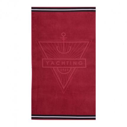 Πετσέτα Θαλάσσης 80x160 Nef Nef Yachting Bordo